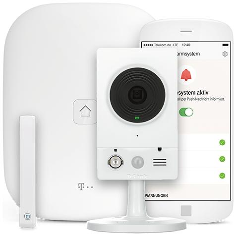 magenta smarthome kamera alarmsystem kaufen telekom. Black Bedroom Furniture Sets. Home Design Ideas
