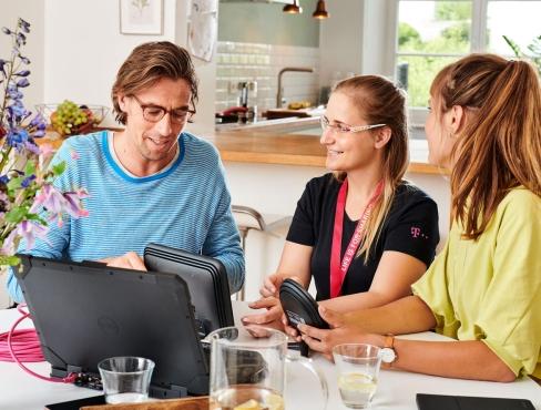 zuhause telekom. Black Bedroom Furniture Sets. Home Design Ideas