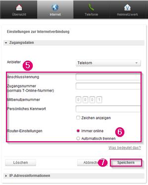 telekom zugangsdaten eingeben speedport Sie müssen also nicht zwingend alle hier genannten zugangsdaten kennen 1&1 kundennummer und passwort sie erhalten eine 1&1 kundennummer von uns.