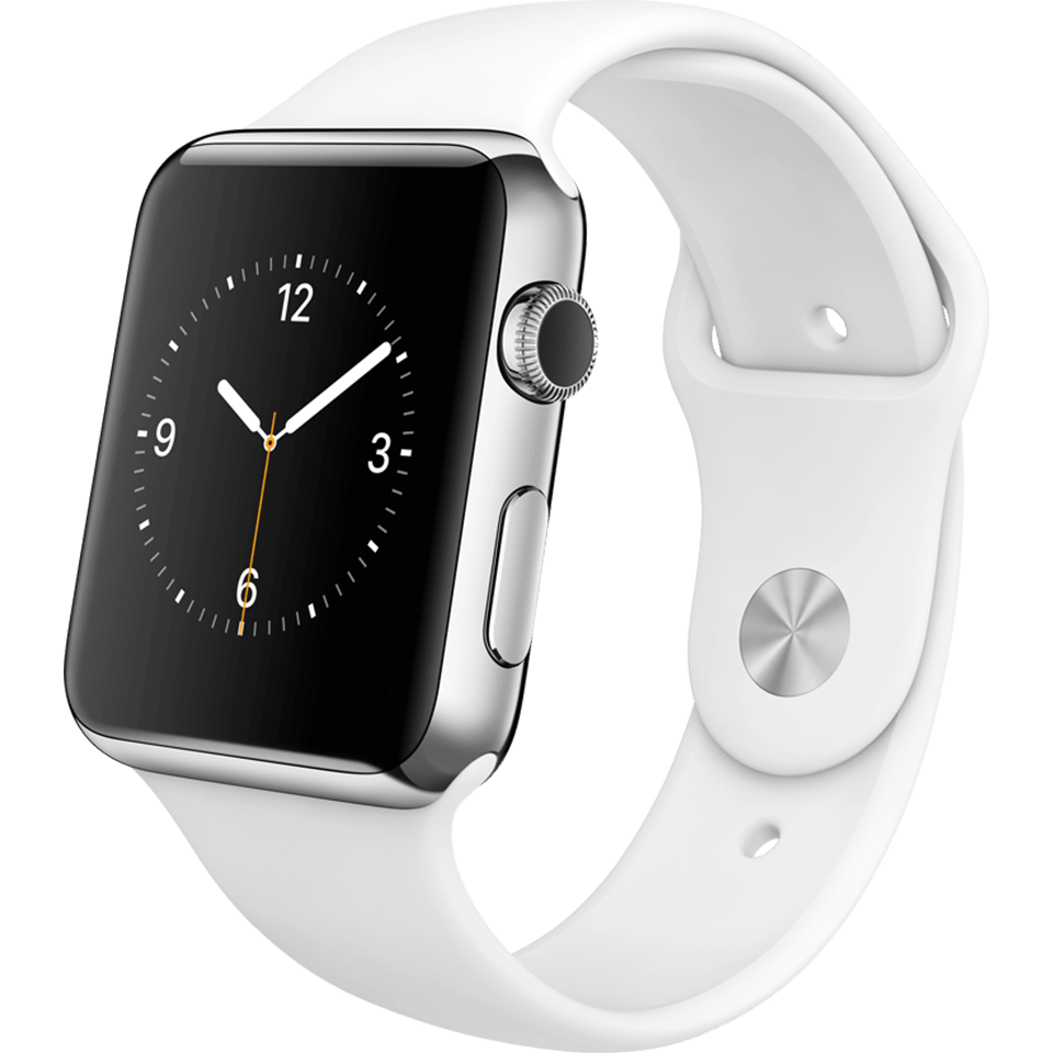 apple-watch-sport-42-mm-silber-weiß-vorne