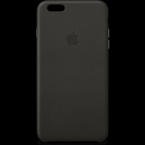 Apple Leder Case Schwarz iPhone 6 Plus 99922239 hero