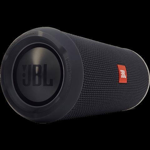 JBL Flip 3 Bluetooth Lautsprecher schwarz seitlich 99923790
