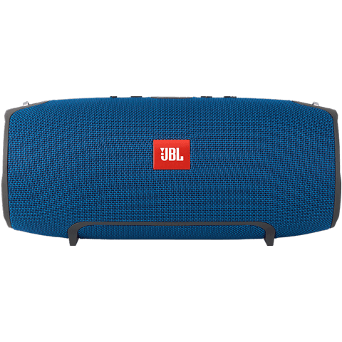 JBL Xtreme Bluetooth Lautsprecher blue vorne