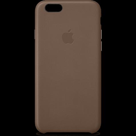 Apple Leder Case Braun iPhone 6 Plus 99922236 hero