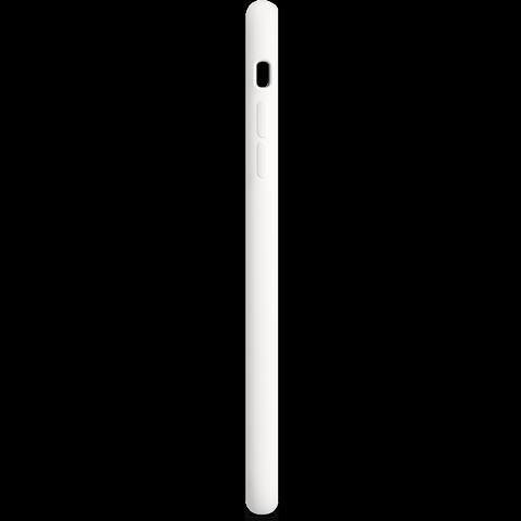 Apple Silikon Case Weiß iPhone 6 Plus 99922249 seitlich