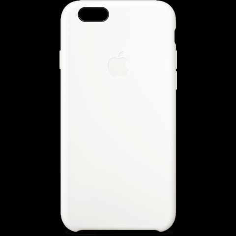 Apple Silikon Case Weiß iPhone 6 Plus 99922249 vorne
