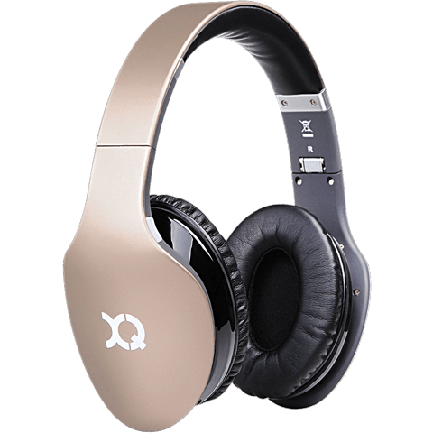 xqisit Bluetooth Stereoheadset LZ380 gold vorne 99922349