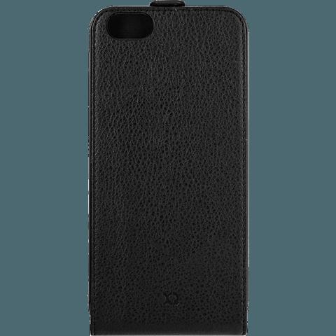 xqisit Flipcover Apple iPhone 6/6s schwarz hinten 99922025