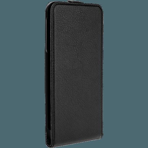 xqisit Flipcover Apple iPhone 6/6s schwarz seitlich 99922025