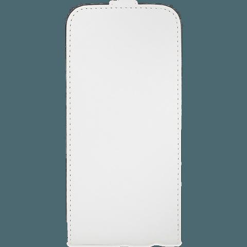 xqisit Flipcover Samsung Galaxy S6 weiss vorne 99922888