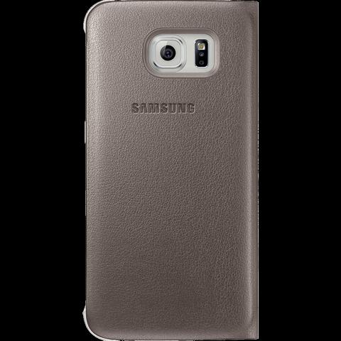 Samsung S-View FlipCover Samsung S6 Gold 99922873 hinten