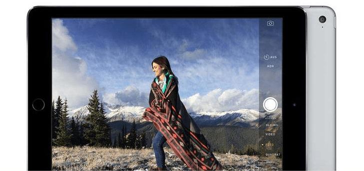 Apple iPad Air 2 Zwei fantastische Kameras