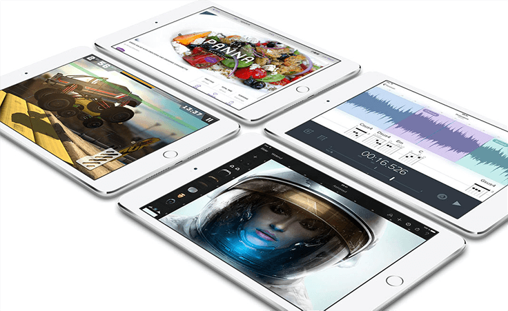 Apple iPad mini 4 Apps gemacht für das iPad