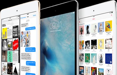 Apple iPad mini 4 mehr erleben
