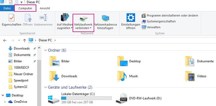 MagentaCLOUD als Netzlaufwerk Windows  Telekom Hilfe