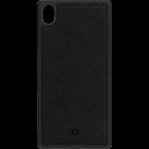 xqisit-magneat-iplate-sony-xperia-z5-schwarz-vorne-99924381