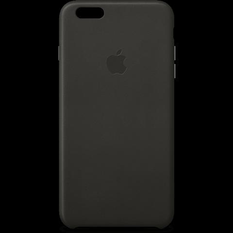 Apple iPhone 6s Plus Leder Case Schwarz 99924550 vorne