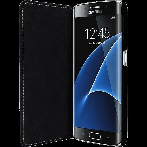 Bugatti Booklet Oslo Samsung Galaxy S7 Edge Schwarz 99924569 seitlich