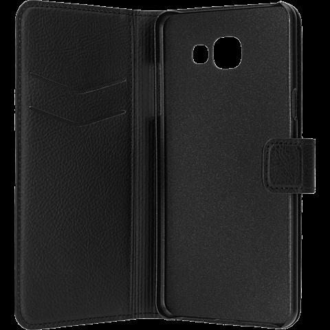 xqisit Slim Wallet Schwarz Samsung Galaxy A3 (2016) 99924784 seitlich