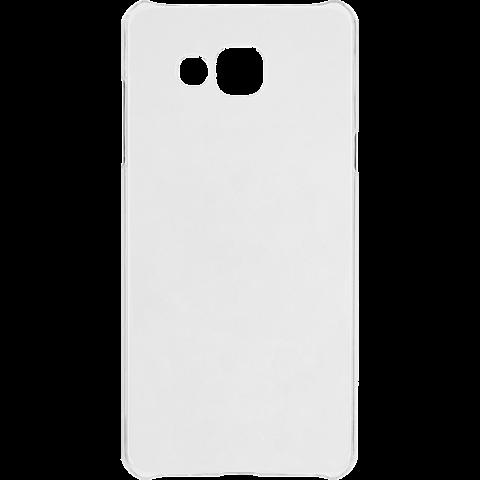 xqisit iPlate Cover Transparent Samsung Galaxy A3 (2016) 99924781 hinten