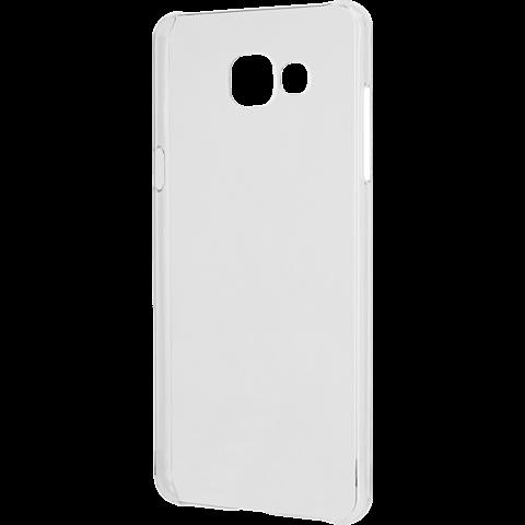 xqisit iPlate Cover Transparent Samsung Galaxy A3 (2016) 99924781 seitlich