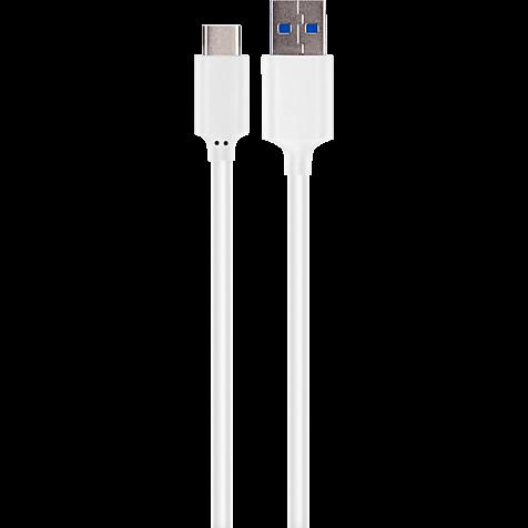xqisit Ladekabel Typ C - USB 3.1 Weiß 99924779 hero