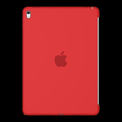 Apple iPad Pro 9,7 Silikon Case Rot vorne 99924736
