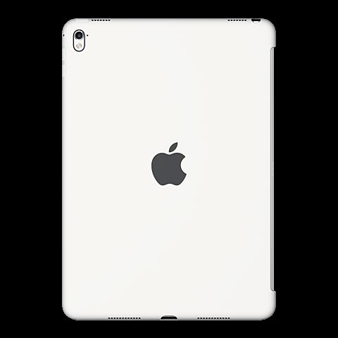 Apple iPad Pro 9,7 Silikon Case Weiss vorne 99924735