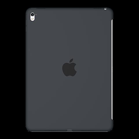 Apple iPad Pro 9,7 Silikon Case Grau vorne 99924734
