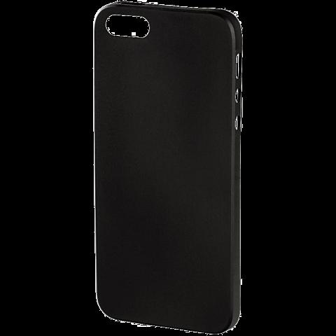 Hama Ultra Slim Cover Schwarz Apple iPhone SE 99924657 hinten