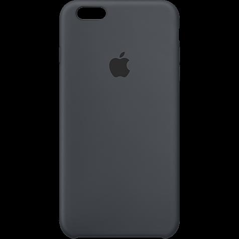 Iphone S Plus Silikon Case Anthrazit