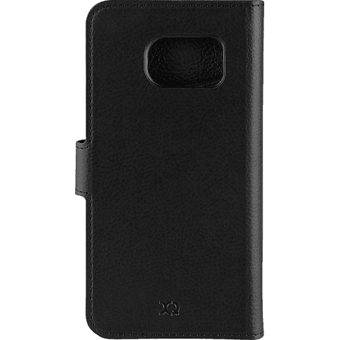 xqisit Slim Wallet schwarz Samsung Galaxy S7 Schwarz 99924575 hinten
