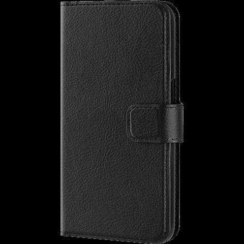 xqisit Slim Wallet schwarz Samsung Galaxy S7 Schwarz 99924575 seitlich
