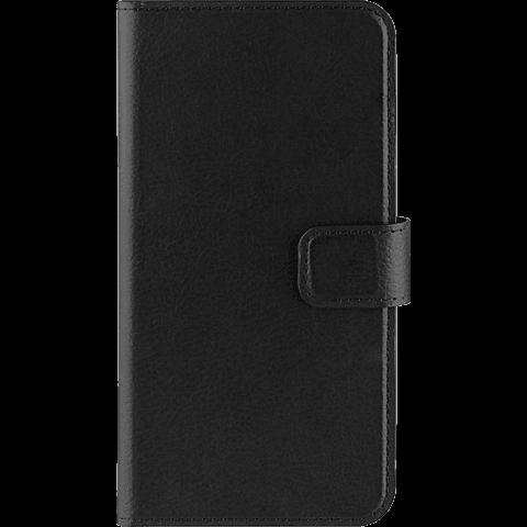 xqisit Slim Wallet Samsung Galaxy S7 edge Schwarz 99924581 vorne