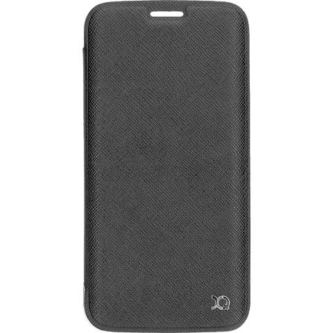 xqisit Flap Cover Adour Samsung Galaxy S7 Grau 99924577 vorne