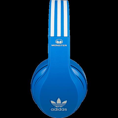 Monster adidas Originals Kopfhörer blau seitlich 99924553