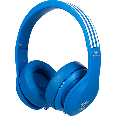 Monster adidas Originals Kopfhörer blau vorne 99924553