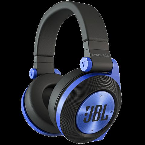 JBL E50 On-Ear Bluetooth-Kopfhörer Blau vorne 99924659