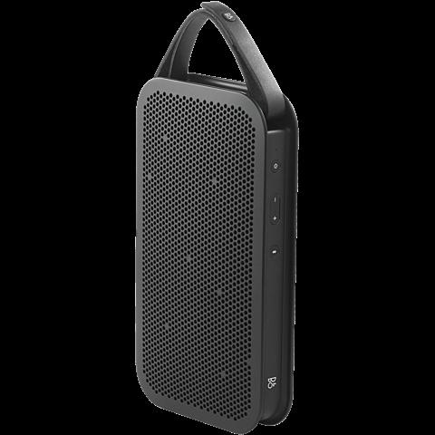B&O BeoPlay A2 Bluetooth-Lautsprecher schwarz seitlich 99924683