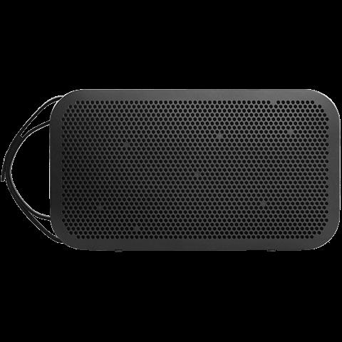 B&O BeoPlay A2 Bluetooth-Lautsprecher schwarz vorne 99924683