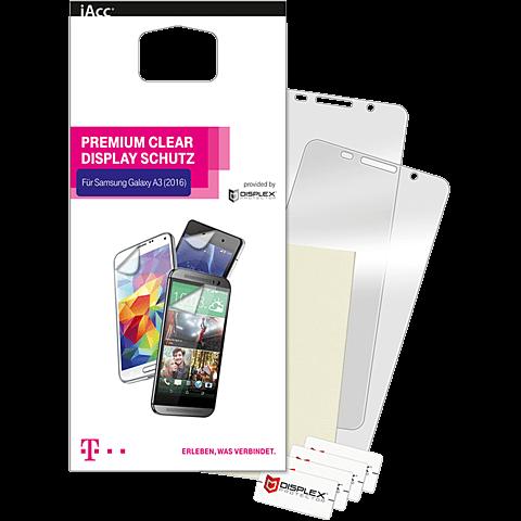 Displex Displayschutzfolie Samsung Galaxy A3 (2016) Transparent seitlich 99924786