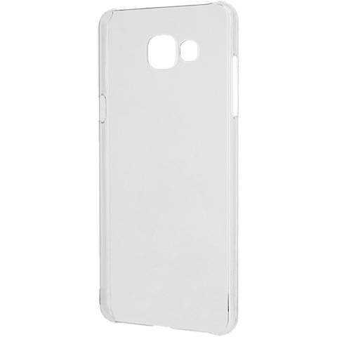 xqisit iPlate Cover Transparent Samsung Galaxy A5 (2016) seitlich 99924780