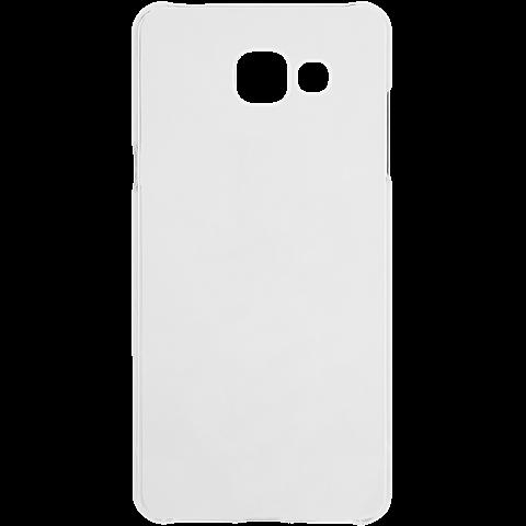 xqisit iPlate Cover Transparent Samsung Galaxy A5 (2016) vorne 99924780