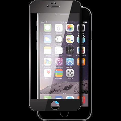 Displex Full Screen Glas Schwarz Apple iPhone 6s 99924810 vorne