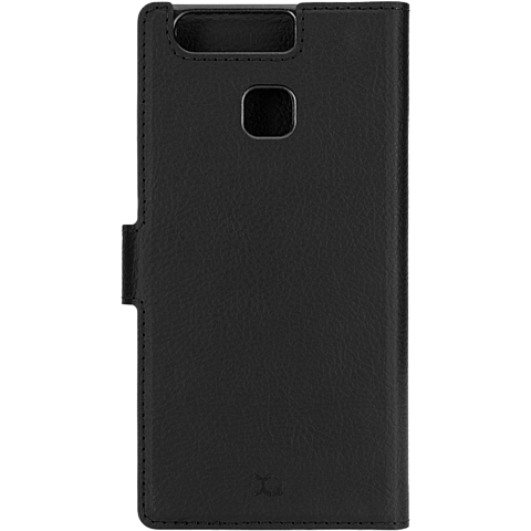 xqisit Slim Wallet Schwarz Huawei P9 99924773 hinten