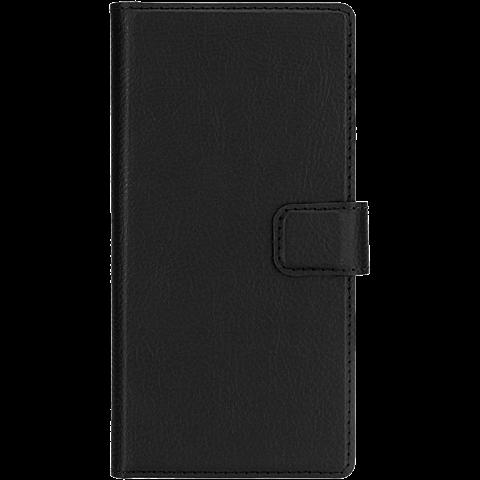 xqisit Slim Wallet Schwarz Huawei P9 99924773 vorne