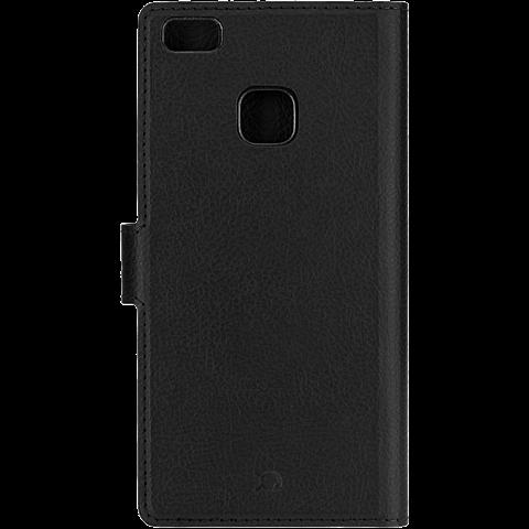 xqisit Slim Wallet Schwarz Huawei P9 Lite 99924774 hinten