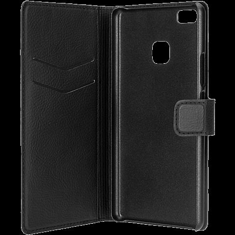 xqisit Slim Wallet Schwarz Huawei P9 Lite 99924774 seitlich