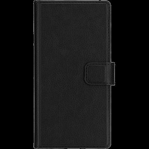 xqisit Slim Wallet Schwarz Huawei P9 Lite 99924774 vorne