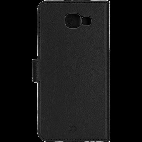 xqisit Slim Wallet Schwarz Samsung Galaxy A5 (2016) 99924789 hinten